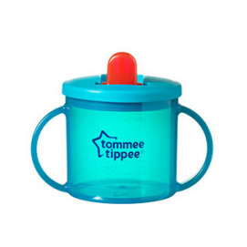 Tommee Tippee Чаша ESSENTIALS FIRST CUP 4m+ синя