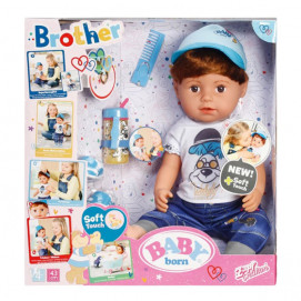 Zapf Creation BABY Born Кукла Братче 43 см 4 год+
