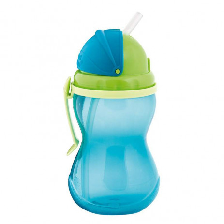 Canpol babies Sports non-winding cup with straw 370ml 12m + Blue from Pakostnik