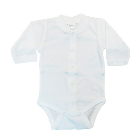Sali Baby long-sleeve bodysuit Sally white from Pakostnik