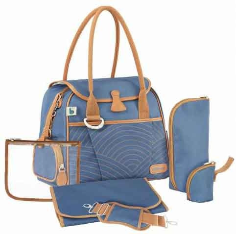 2b33118d1a BabyМoov Baby carriage bag Style Bag Blue Navy Blue | Baby and kids ...