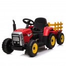 Battery operated car with trailer TRACTOR Red