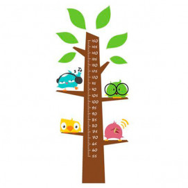 Mycey Fun Sticker Height-Meter Birds Mycey