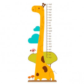 Mycey Fun Sticker Height-Meter Giraffe Mycey