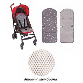 Sevi bebe Trolley mat gray