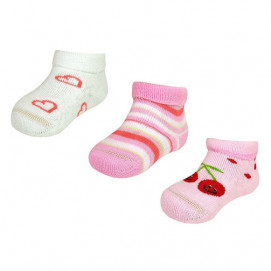Maximo Set of socks for a girl ( from 0 to 12 m.)