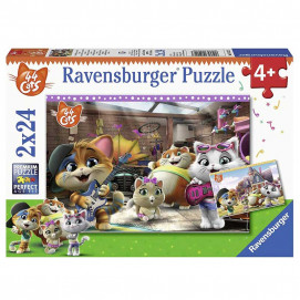 Ravensburger Puzzle 2 x 24pc 44 Cats