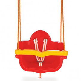 Pilsan Swing with ropes Red