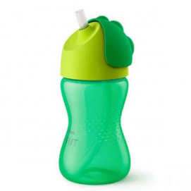 Philips Avent Cup with straw 12m + 300ml Green Boy