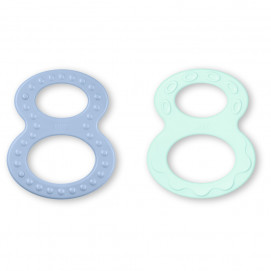 Nuk Figure-of-8 teething rings