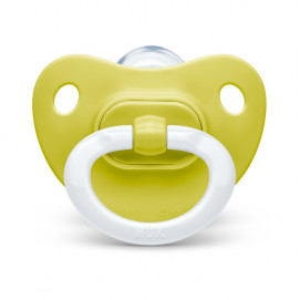 Nuk Soother silicone 0-6m. FASHION Green