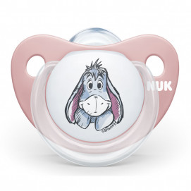 Nuk Silicone pacifier 0-6m DISNEY with sterilization box Pink