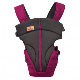 Lorelli Baby Carrier JOURNEY Dark Red Cyclame and Black