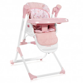 Lorelli Feeding High Chair VENTURA NEW Pink