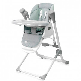 Lorelli Feeding High Chair VENTURA Frosty Green Stars