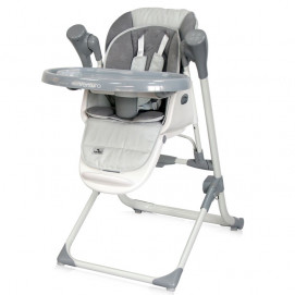 Lorelli Feeding High Chair VENTURA Cool Grey Stars