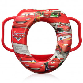 Lorelli Soft toilet bowl with handles Cars red
