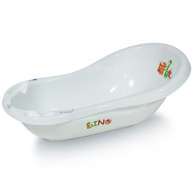 Lorelli Draining Bathtub 84cm Dino white