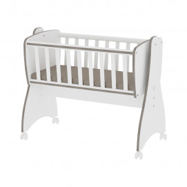 Lorelli Baby Cot-Swing First Dreams white / coffee