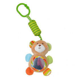 Lorelli Toys Plush toy with a bell ringing BEAR