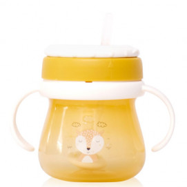 Lorelli Cup with handles MY FRIEND Yellow