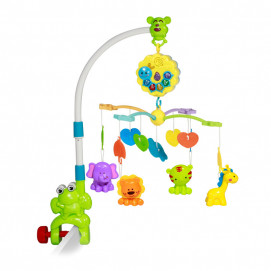 Lorelli Toys Musical carousel for bed Frog