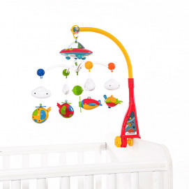 Lorelli Toys Baby Musical Mobile with projector SKY