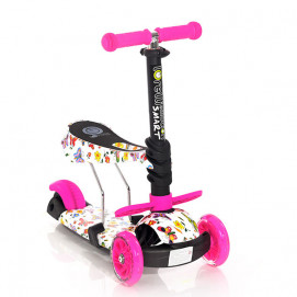 Lorelli Toys Scooter SMART Pink Butterfly