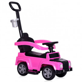 Lorelli Toys Ride On Car X-TREME with handle Pink