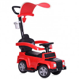 Lorelli Toys Ride On Car X-TREME with handle and canopy Red