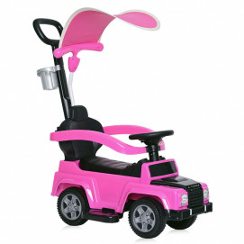 Lorelli Toys Ride On Car X-TREME with handle and canopy Pink