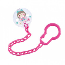 Canpol babies Clip for Pacifier Toys Pink