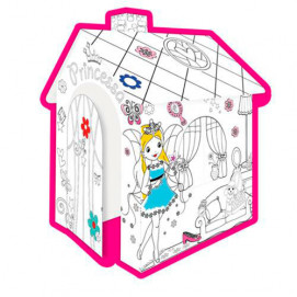 Mochtoys House Coloring Princess