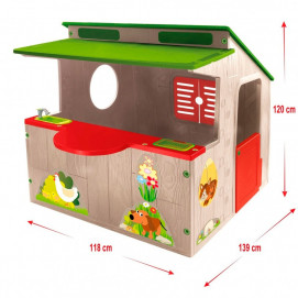 Mochtoys Garden house with kitchen