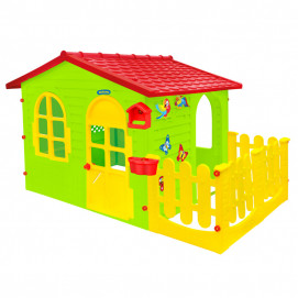 Mochtoys House with fence and drawing board 12243