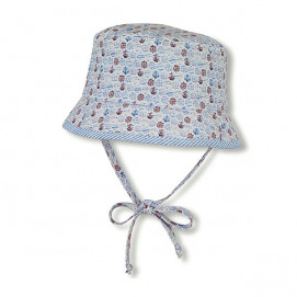 Sterntaler Children's summer hat with UV 15+ protection with two-sided boys