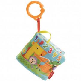 Fisher Price 1 to 5 Soft Activity Book with Monkey Teether