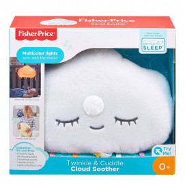 Fisher Price Music lamp glowing Cloud