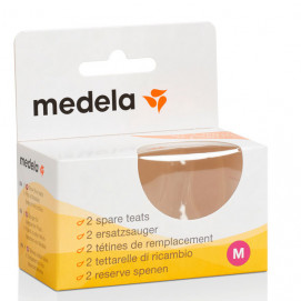 Medela Silicone pacifier M (medium flow) 2 pcs