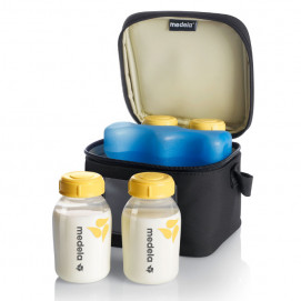Medela Cooler 4 bottles and battery Medela
