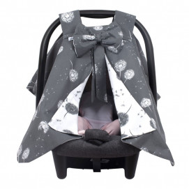 Sevi bebe Car seat cover with ribbon Dandelions
