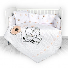 Lorelli Set LILY 60x120 cm Ranforce ELEPHANT Antidust