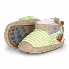 Sterntaler Baby shoes Berry