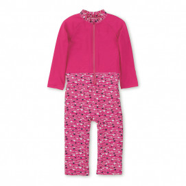 Sterntaler Children's overalls with UPF50 + protection Pink