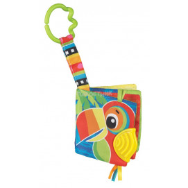 Playgro Jazzy Jungle Teether Book Playgro