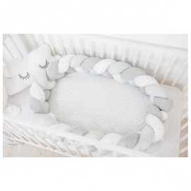 Bubaba Nest for baby Grey and White