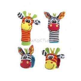 Playgro Jungle wrist rattle and foot finder Playgro