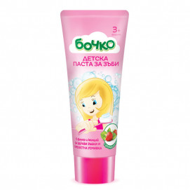 Bochko Children's toothpaste with strawberry flavor 75 ml 3 years +