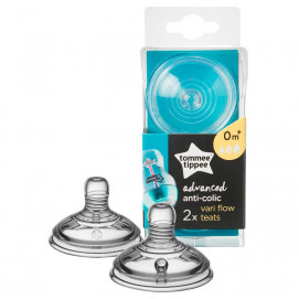 Tommee Tippee Pacifier Variflow ANTI-COLIC 3 drops 0 monts+ 2 pcs