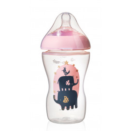 Tommee Tippee Feeding bottle Ultra 340 ml. pink